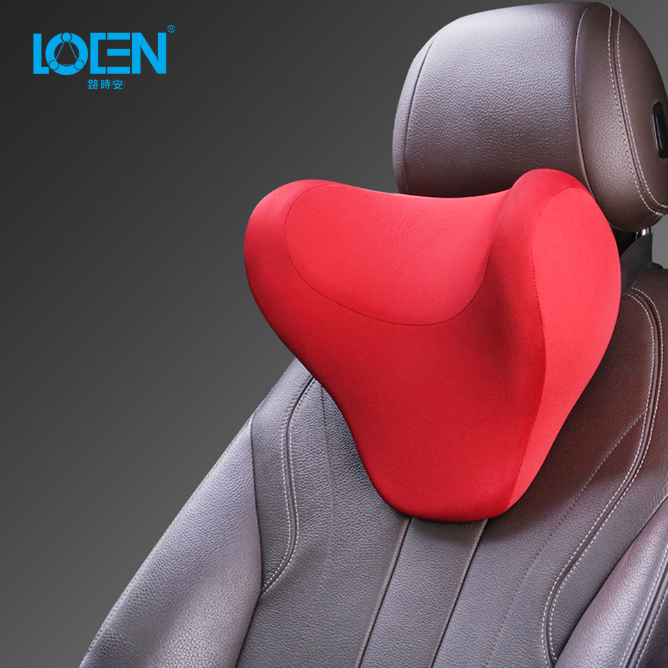 LOEN 1 PCS U Shape Car Neck Pillow Slow Rebound Memory Foam Car Headrest Neck Pillow For Car Seat Flight Traveling Office Chair