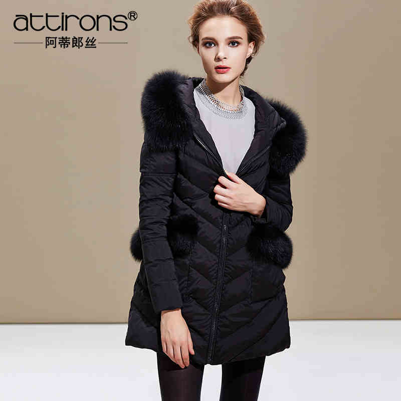 2015 New Hot Winter Cold Warm Woman Down jacket Coat Parkas Outerwear Hooded Fox Fur collar Luxury High Long Plus Size 3XXXL