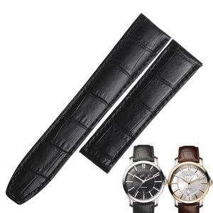 Мужские Ремешки для наручных часов WENTULA, ремешок из натуральной яловой кожи для часов Maurice Lacroix PONTOS PT6158