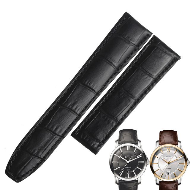 74280c257ce70 WENTULA watchbands for Maurice Lacroix PONTOS PT6158 calf-leather band cow  leather Genuine Leather leather strap watch band man