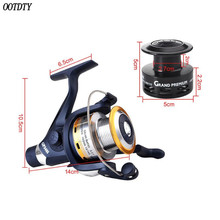 1 Set Metal Head Fishing Reel Sea Squid Spinning Wheel Bream Sandpiper Wheels Stem Gear