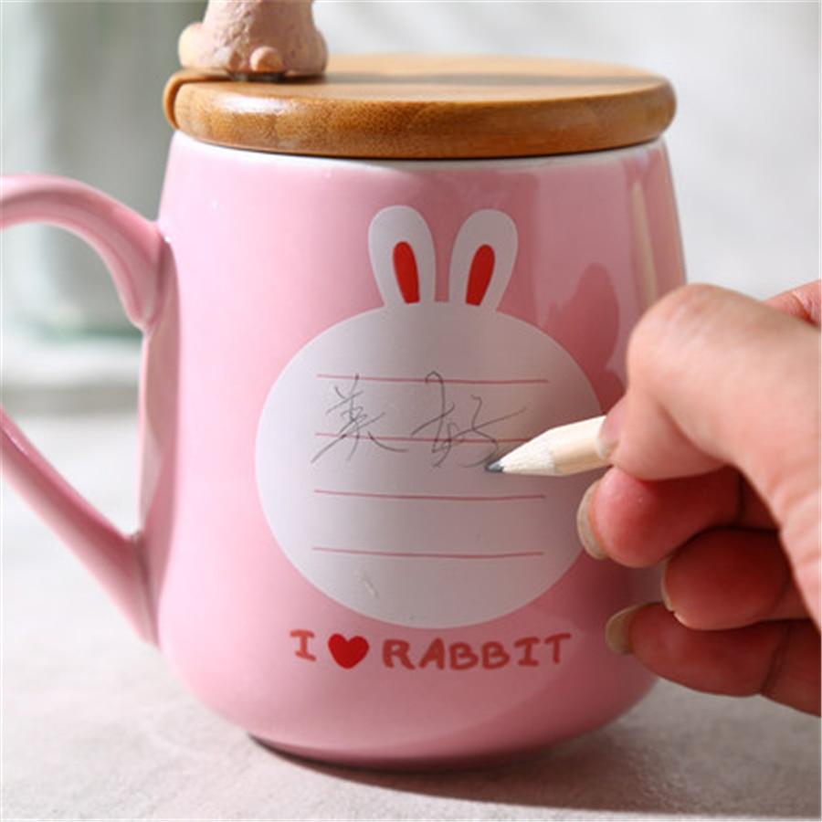 Cartoon Coffee Ceramic Cute Mugs Cup Art Supplies Bardak ...