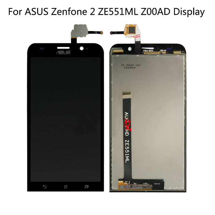 Original LCD For ASUS Zenfone 2 ZE551ML LCD Display Touch Screen Digitizer with Frame for ASUS Zenfone 2 ZE551ML Z00AD LCDOriginal LCD For ASUS Zenfone 2 ZE551ML LCD Display Touch Screen Digitizer with Frame for ASUS Zenfone 2 ZE551ML Z00AD LCD