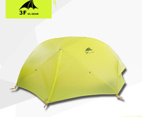 Ultralight Double Layer 2 Person Use 15D Coated Silicon High Quality Waterproof Windproof Camping Tent With