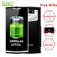 Oukitel K10000 pro 10000 мАч 12 В 2A 5.5 дюймов Android 7.0 смартфон 3 ГБ 32 ГБ MTK6750T Восьмиядерный Отпечатков пальцев ID мобильного телефона