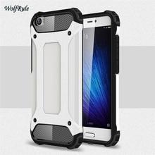 Купить с кэшбэком Case For XiaoMi Mi5 Coque Business Style TPU & PC Case For XiaoMi Mi 5 Mi5 Cover Light Mobile Phone Fundas