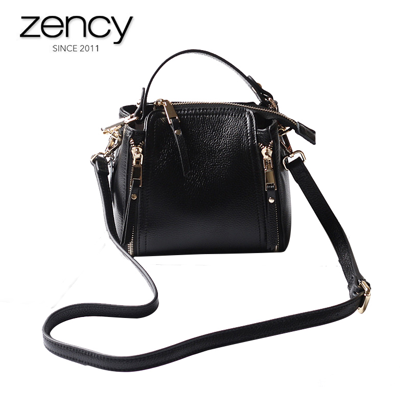 2018 New Design Women's Natural Texture Genuine Leather Handbags Ladies Fashion Purses Shoulder bag Casual Small Bag for Female qiaobao 100% genuine leather handbags new network of red explosion ladle ladies bag fashion trend ladies bag