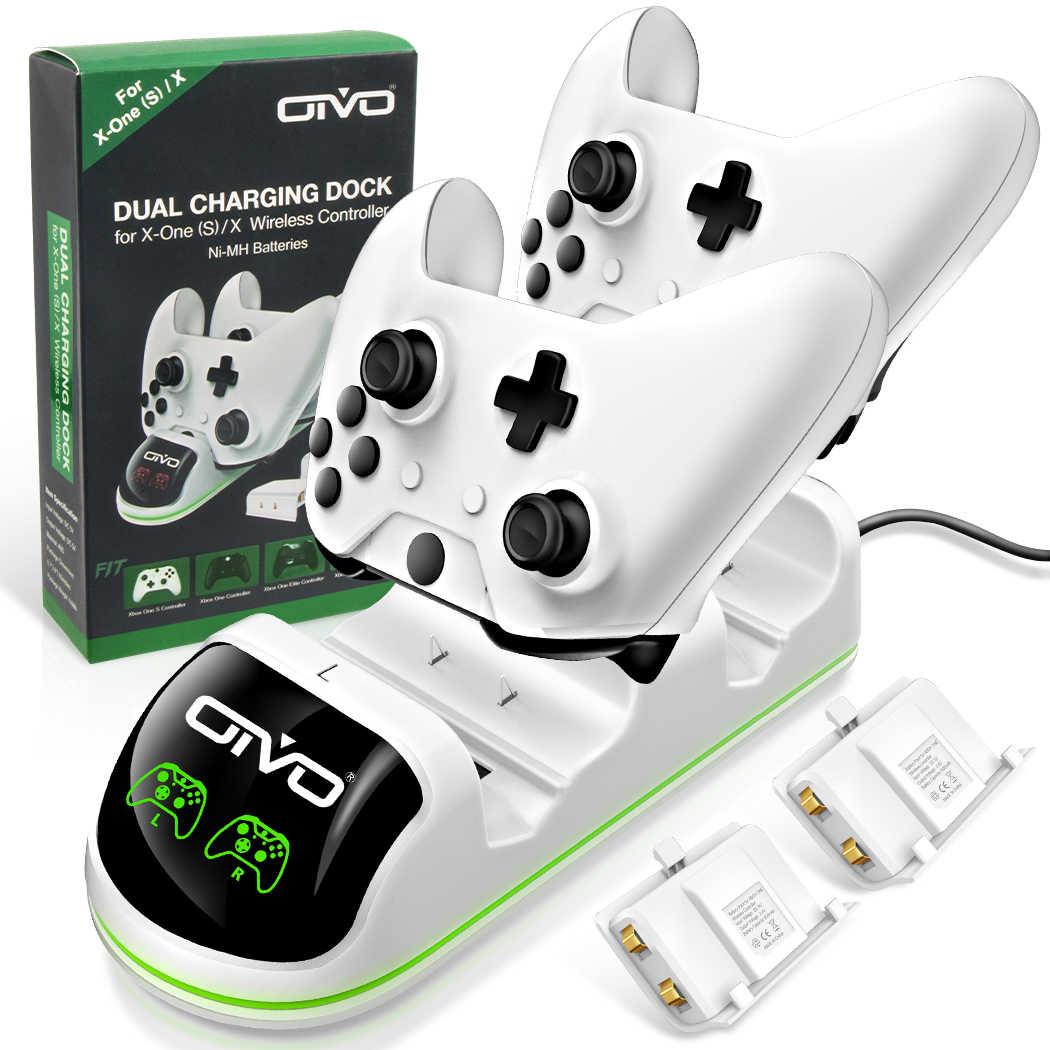 Oivo Xbox One One S One X Cift Denetleyici Sarj Durumu Ekran Sarj Istasyonu Standi 2 Sarj Edilebilir Pil Paketi Aliexpress