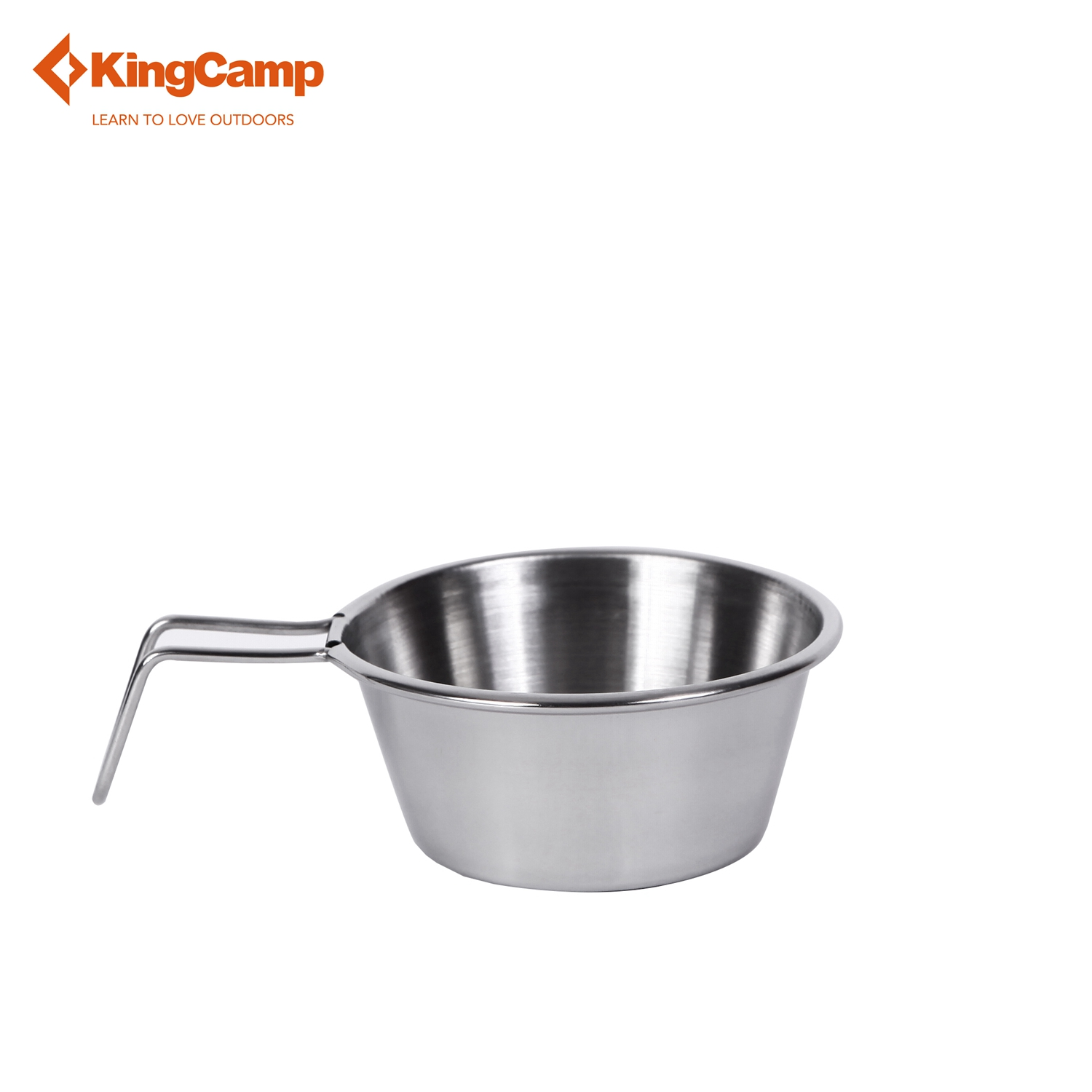 Kingcamp 7pcs Portable Stainless Steel Cookware Set For Camping Hiking Includes Pot Frypan Plates Bowels Carry Bag Dinner Set Outdoor Tablewares Camping & Hiking