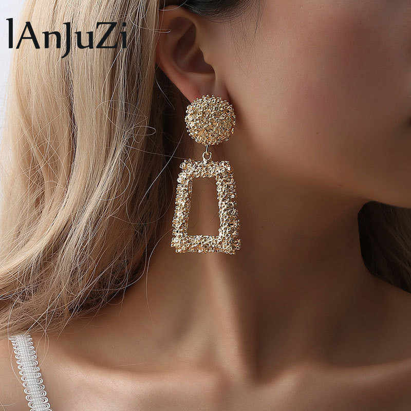 Fashion statement earrings 2019 Geometric earrings For Women Hanging Dangle Earrings Drop Earing modern Jewelry