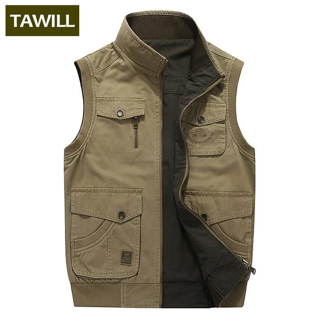 301b529b197a TAWILL Plus size M-8XL Men's Ripped Denim Vest Distressed Sleeveless Jeans  Jacket For Man Black Waistcoat 2018 New 8522