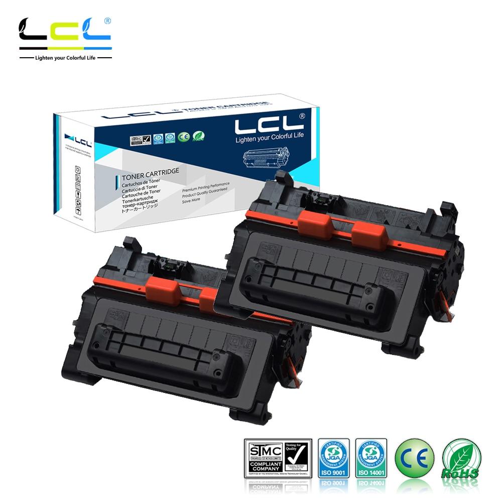 LCL 90A CE390A CE390 A 390A (2-Pack Black) Laser Toner Cartridge Compatible for HP LaserJetM4555MFP/M601/M601n/M602n/M602dn for hp ce390a 90a 390a 90 black laserjet toner cartridge for hp laserjet 4555 4555 4555dn 10000 pages