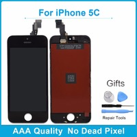 Black 100 Guarantee AAA Replacement Display For Iphone 5C LCD Touch Screen Digitizer Full Assembly Screen