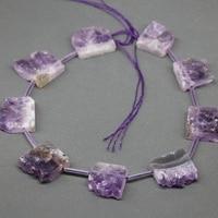 Raw Stone Top Drilled Necklace Beads, Druzy Drusy Quartz Crystal Beads Necklace Gift Items Fashion Gem Stone Druzy Pendant