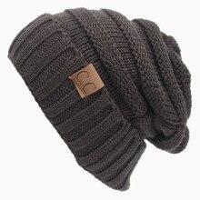 Un Chapeau Lettre Vrai Casual Bonnets Pour Hommes Femmes Mode tricoté Chapeau Dhiver Solide