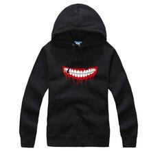 Anime Tokyo ghouls cotton Sweatshirt long sleeve hoody