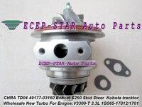 Turbo Turbocharger Cartridge CHRA TD04 49177 03160 1G565 1701 For Mitsubishi Pajero L200 Bobcat S250 Loader