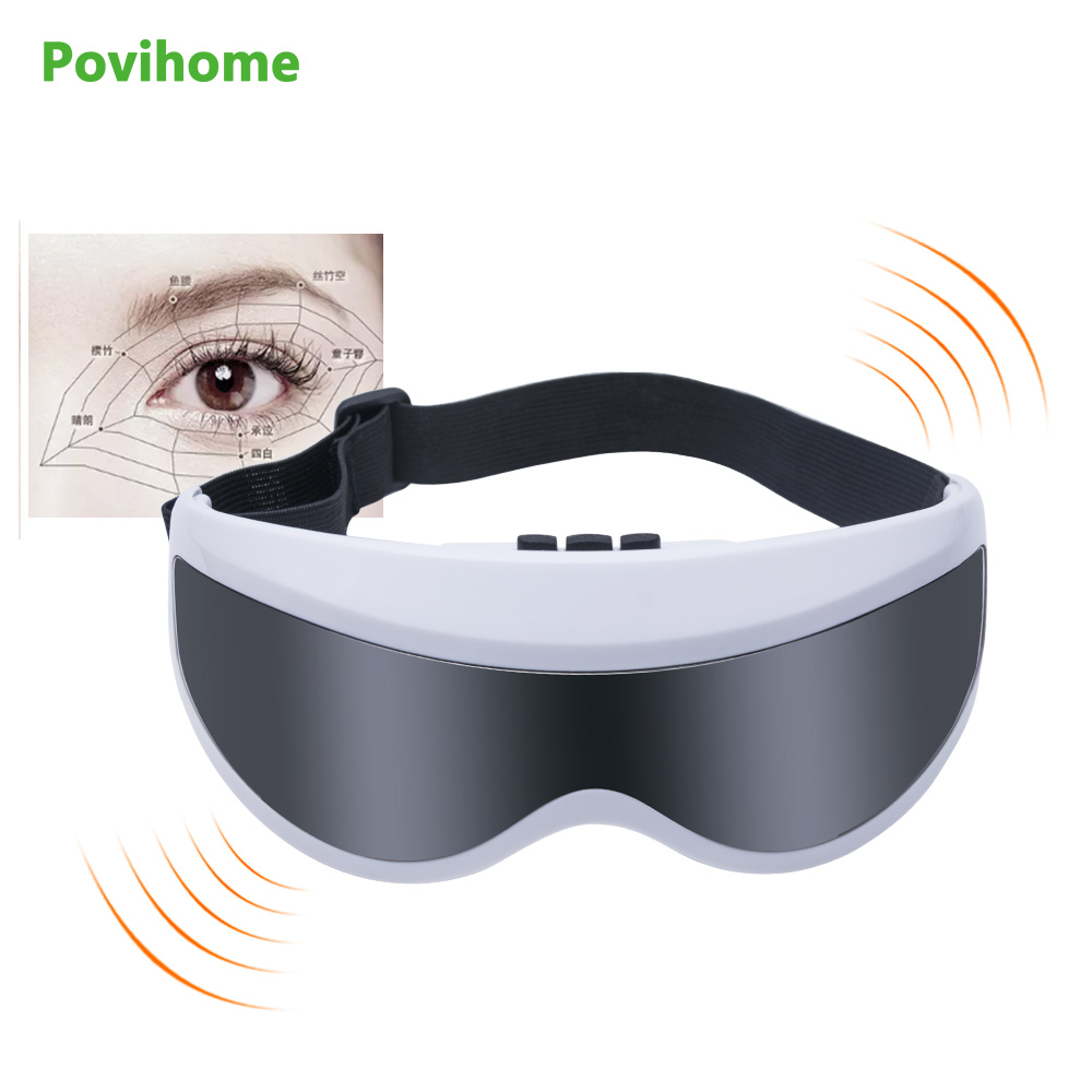 Electric Eyes Massager Eye Fatigue Alleviating Health Care Massaging Gadget Eye Protection Instrument Relaxation Massage C1282 2pcs jia kang s three generation eye instrument eye massager eye eye massager extended edition of the new