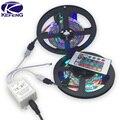 10 m/lote 3528 RGB led luz de tira 12 V 60 los 60leds/m 300 Led con control remoto a prueba de agua blanco/caliente blanco/Azul/Verde/Rojo/Amarillo