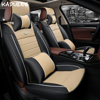 KADULEE car seat covers for volvo xc70 nissan teana toyota fortuner jac s2 s3 pajero sport auto seat protector car styling