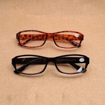 Presbicia Retro estilo ovalado hombres mujeres fuerza + 1,0-+ 2,50 + 3,50 + 4,00 Gafas Lunettes De conferencia leopardo