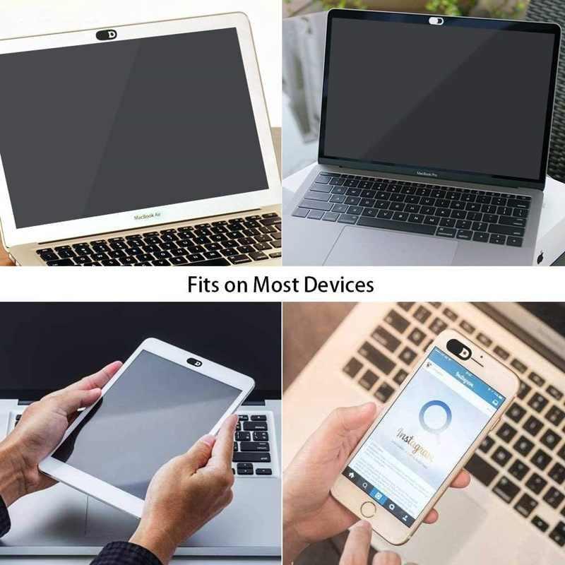 Tongdaytech WebCam couverture obturateur aimant curseur en plastique universel antiespion caméra couverture pour ordinateur portable iPad PC Macbook autocollant de confidentialité