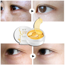 Gold Aquagel Collagen Eye Mask Sleep Mask Eye Patches Dark Circles Face Care Mask To Face Skin Care Whitening Anti Wrinkle 90pcs 2pcs pack collagen eye masks gold aquagel collagen eye mask ageless sleep mask eye patches dark circles