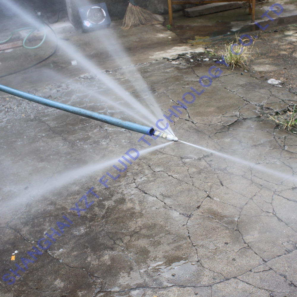 High pressure water jet drain pipe cleaning - Hose Drain Cleaner