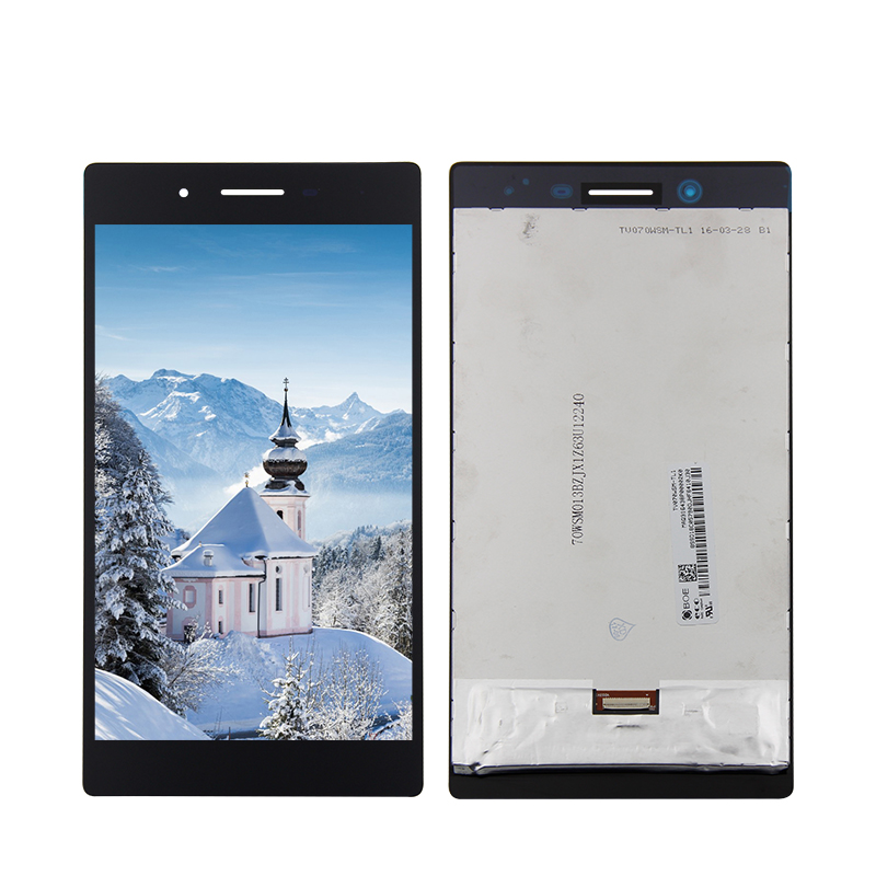 For Lenovo Tab 3 Tab3 TB3-730X TB3-730M Lcd display+Touch Panel Glass Digitizer Assembly 7 for lenovo tab3 3 7 730 tb3 730 tb3 730x tb3 730f tb3 730m tab 730 touch screen digitizer lcd screen display assembly frame