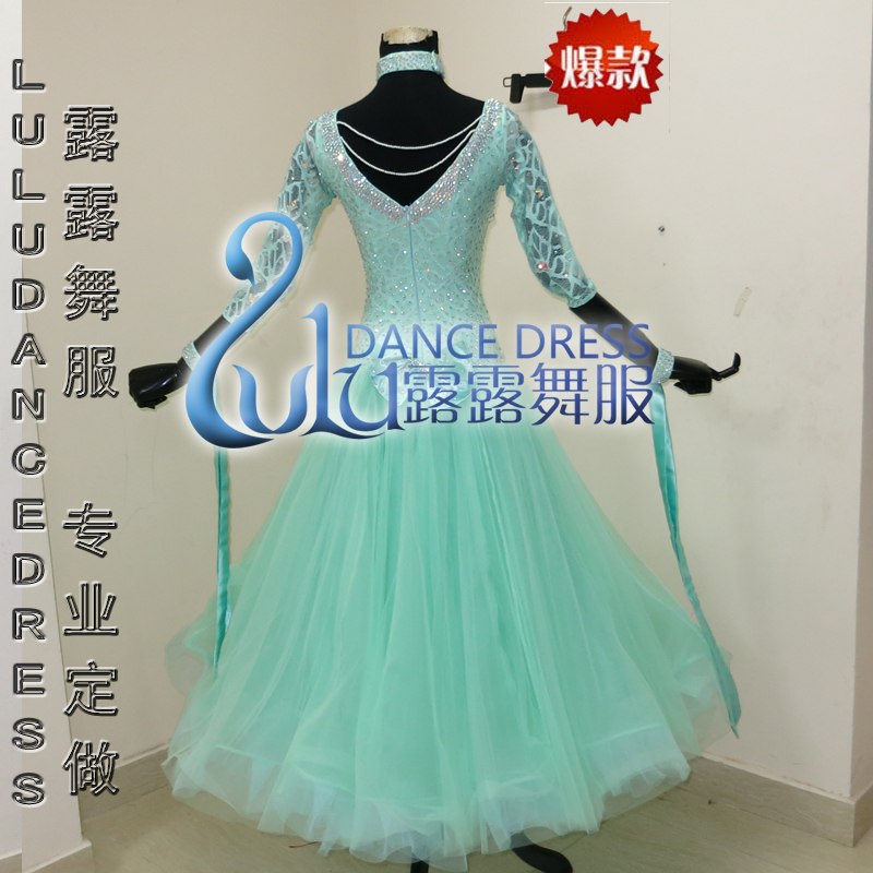 Competition Ballroom dance dress,tango salsa samba dance dress,latin dance wear,Rumba Jive Chacha balck Dance Dress