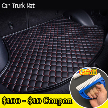 Car ACCESSORIES Custom fit car trunk mat for BMW X1 E84/BMW X3 F25/BMW X4/BMW X5 E70/BMW X6 E71 waterproof travel non-slip фото