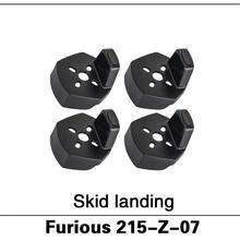 Original Walkera Furious 250 Spare Parts Furious 215-Z-07 Skid landing for Furio