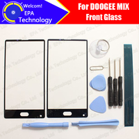 DOOGEE MIX Front Glass Screen Lens 100 Original Front Touch Screen Glass Outer Lens For MIX