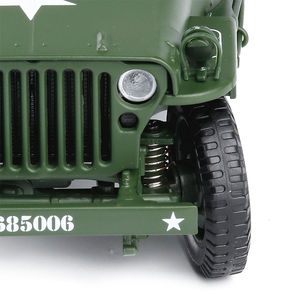 Image 4 - 1:18 Tactical Military Model Old World War II Willis Military Vehicles Alloy Car Model For Kids Toys Gifts Free Shipping