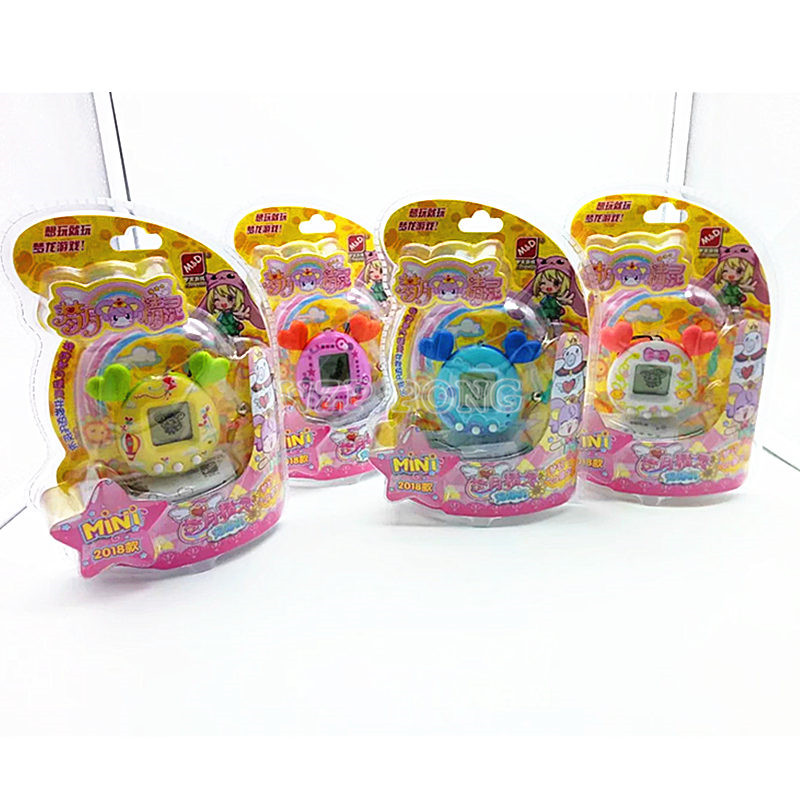 90s Nostalgic Game Machine Virtual Cyber Pet Toy Tamagochi Funny Electronic Pets Toys Gift Elves of