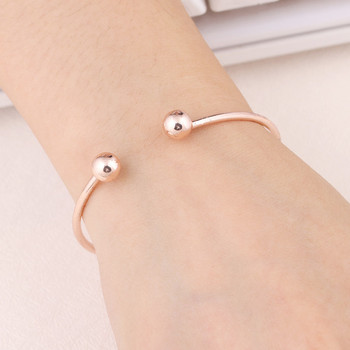 Cuff Gold-Color Bangle Bracelet