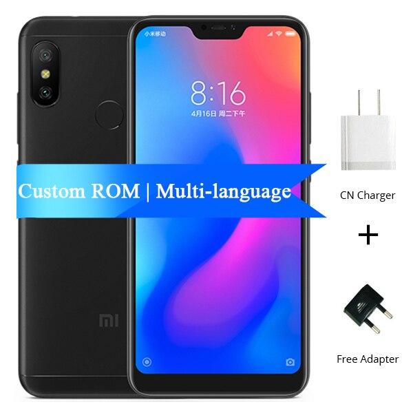 Multi-language Xiaomi Redmi 6 Pro 4GB 32GB Mobile Phone Snapdragon 625 Octa  Core 5 84