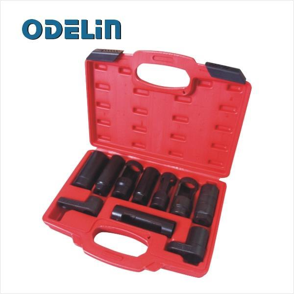 10 Pcs Sensor Oil Pressure Sending Unit Socket Set Oxygen Injector Tool led телевизор supra stv lc24lt0040w