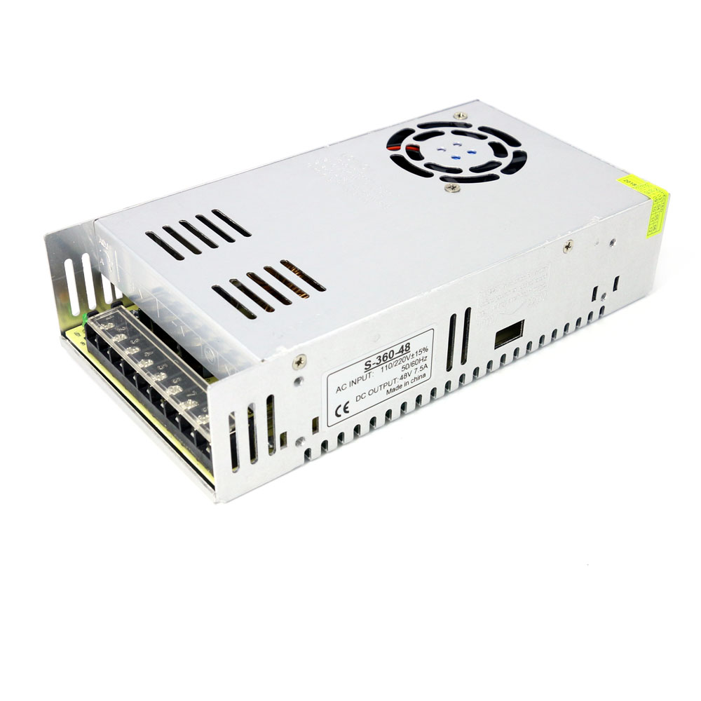48V Power supply AC 110/220V to 48V inverter power supply transformer 48V 7.5A 360W switching power supply