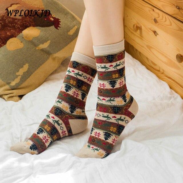 [WPLOIKJD] Japanese Vintage Stripe Cotton Socks Alone Street Creative Socks Women Fashion Odd Future Calcetines Cutting Girl