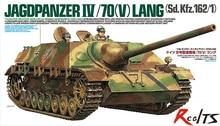 RealTS Tamiya 35340 1 35 German Jagdpanzer IV 70 V Lang Cap Scale Model Kit