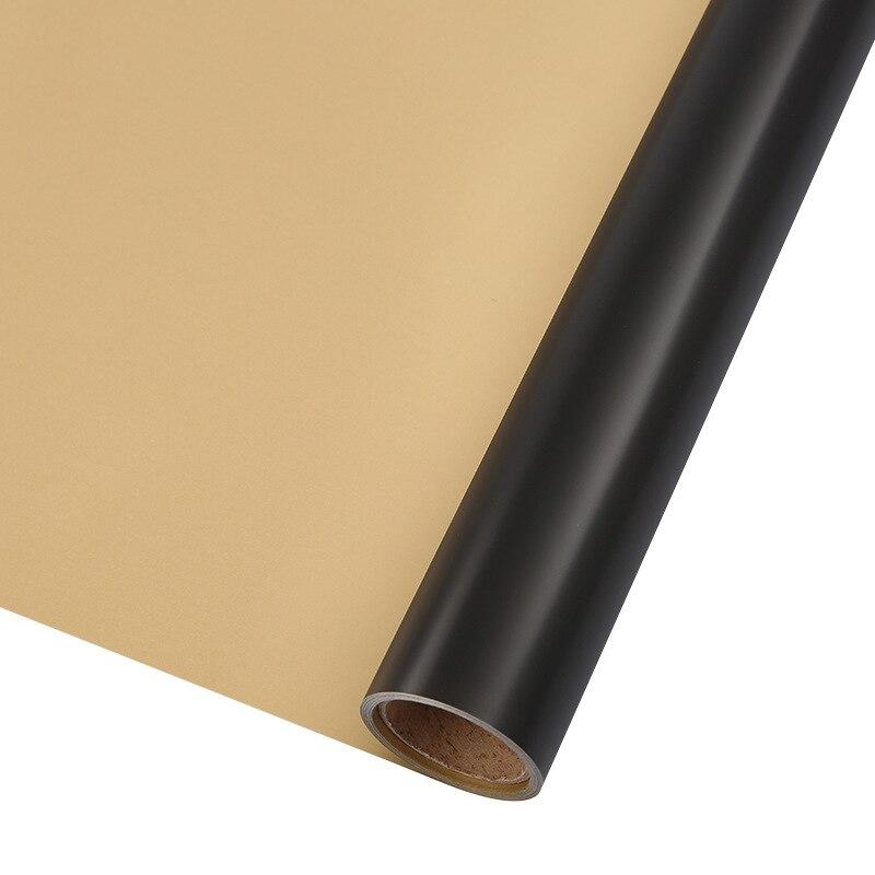 60 см* 10 м/рулон конфеты цвет цветок оберточная бумага Роза свадебная бумага для украшения на рождество упаковка букета материал - Color: N1