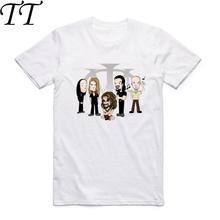 Camiseta estampada da moda para homens e mulheres, camiseta casual de hip hop e manga curta, teatro de rock, manga curta, verão, 2019 hcp931