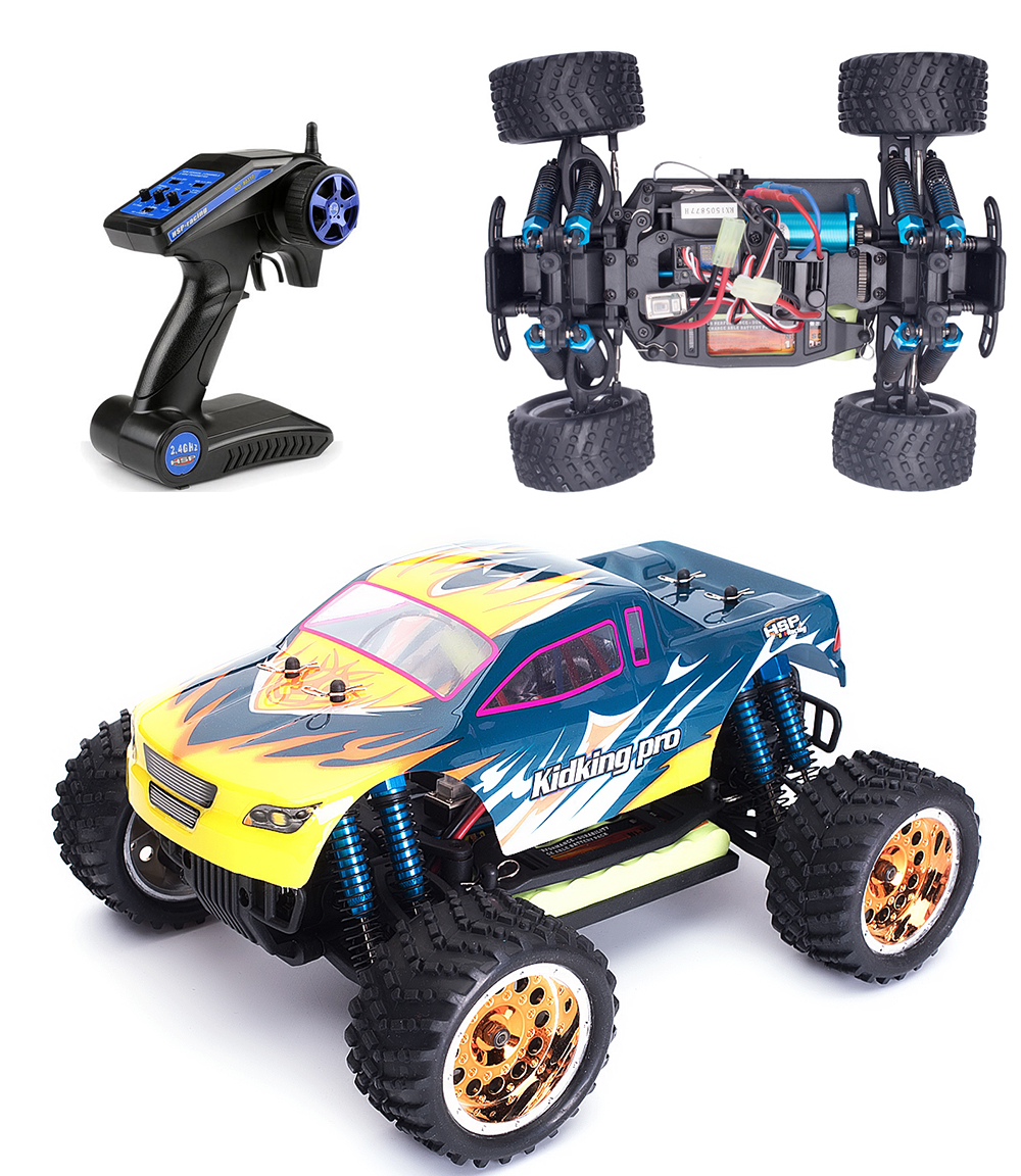 hsp remote control car 1 16 scale brushless rc car electric power off road monster truck kidking. Black Bedroom Furniture Sets. Home Design Ideas