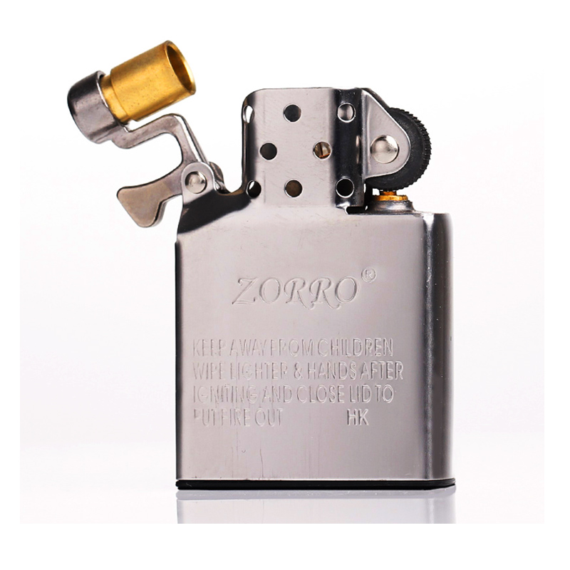 ZORRO 304 Stainless Steel Lighter Liner,Kerosene Long Use Oil Fuel Tank