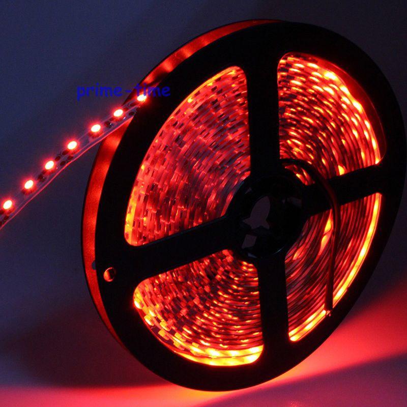 3528 SMD 120 LED / m LED sloksne, 5m 600 LED 12V elastīga gaisma BEZ - LED Apgaismojums - Foto 2