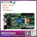Led контроллер карты HUIDU 512*1024 пикселей RGB LED ВИДЕО карты контроля hd-A30 асинхронного карты для открытый rgb led экран