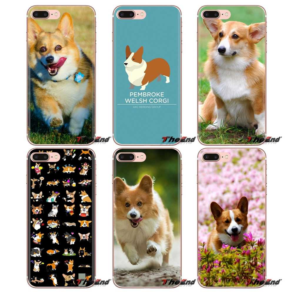 Pembroke Welsh Corgi Dog puppy For LG G3 G4 Mini G5 G6 G7 Q6 Q7 Q8 Q9 V10 V20 V30 X Power 2 3 K10 K4 K8 2017 Silicone Shell Case