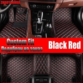 Car Floor Mats for volvo xc90 JAC S2 skoda kodiaq chevrolet lacetti Accessories Waterproof leather Car Carpet Liner Floor Mats