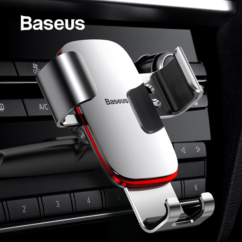 Baseus CD Slot Car Phone Holder for iPhone XS Max X 7 Phone Holder Stand in Car For Xiaomi Redmi Note 7 Car Smartphone Support